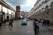 Walking the streets of Cusco