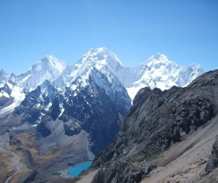High pass Huayhuas Trek