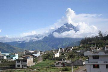 Active Tungurahua Volcano