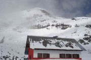 The Whymper refuge on Chimborazo