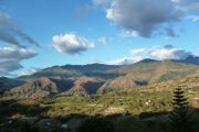 View over Vilcabamba Valley