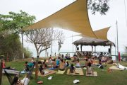 Yoga classes at El Acantilado
