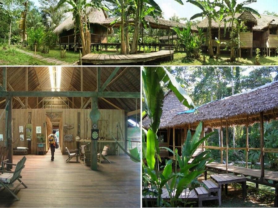 De Inotawa Lodge in de Amazone van Peru