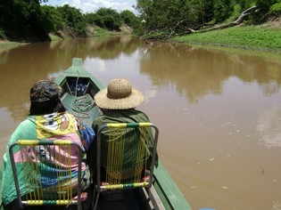Canoe tour Amazon Bolivia