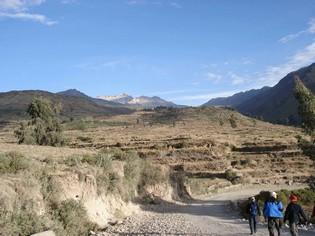 Cabanaconde trek Peru