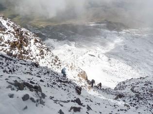 Carihuairazo vulkaan beklimmen Ecuador