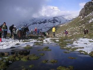 Carihuairazo bergbeklimmen Ecuador