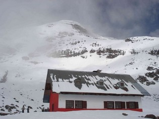 Chimborazo Volcano Refuge Ecuador