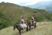 Horseback riding in Vilcabamba