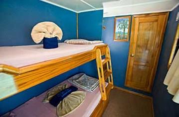 Cabin Eden Galapagos Yacht Ecuador
