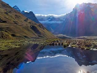 El Altar Lake trekking