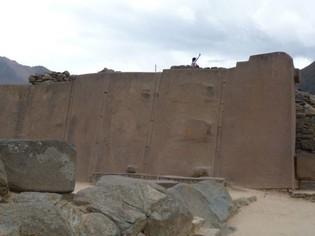 Ollantaytambo Inka ruïnes