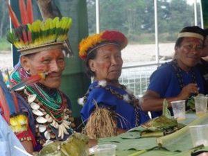 Inheemse Siona cultuur Cuyabeno Amazone