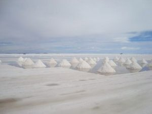 Salt Flat in Salar de Uyuni