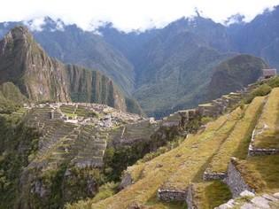 Machu Picchu view