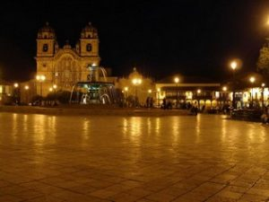Cusco city tour Plaza de Armas