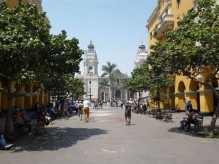 Colonial Lima Peru