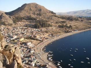 Copacabana Titicaca Bolivia