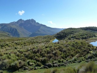 Vulkanen cirquit Ecuador trek