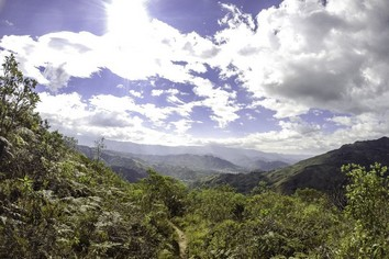 Ecuador waterfall hike