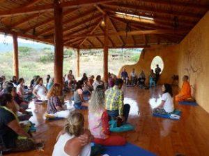 Meditation and Yoga at Izhcayluma