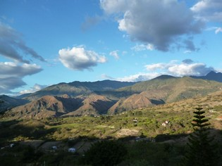 View of Vilcabamba from Izhcayluma