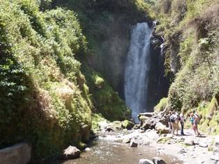 Otavalo waterval Ecuador