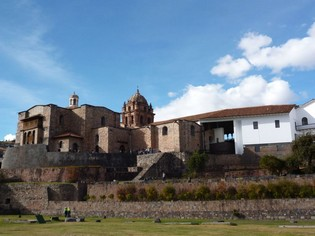 Coricancha zonnetempel Cuzco
