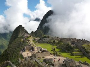 The Archaeological site of Machu Picchu