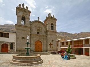 Cotahuasi Church Peru
