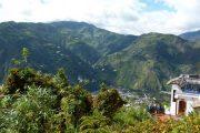 Uitzicht vanuit Cafe del Cielo, Baños