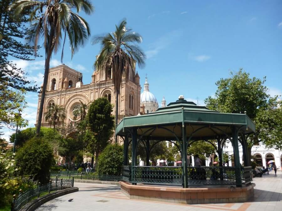 Plaza de Armas of Cuenca