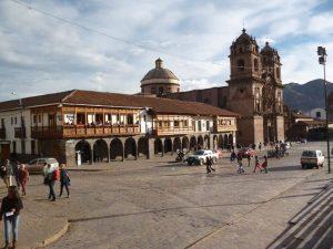 Colonial center Cuzco