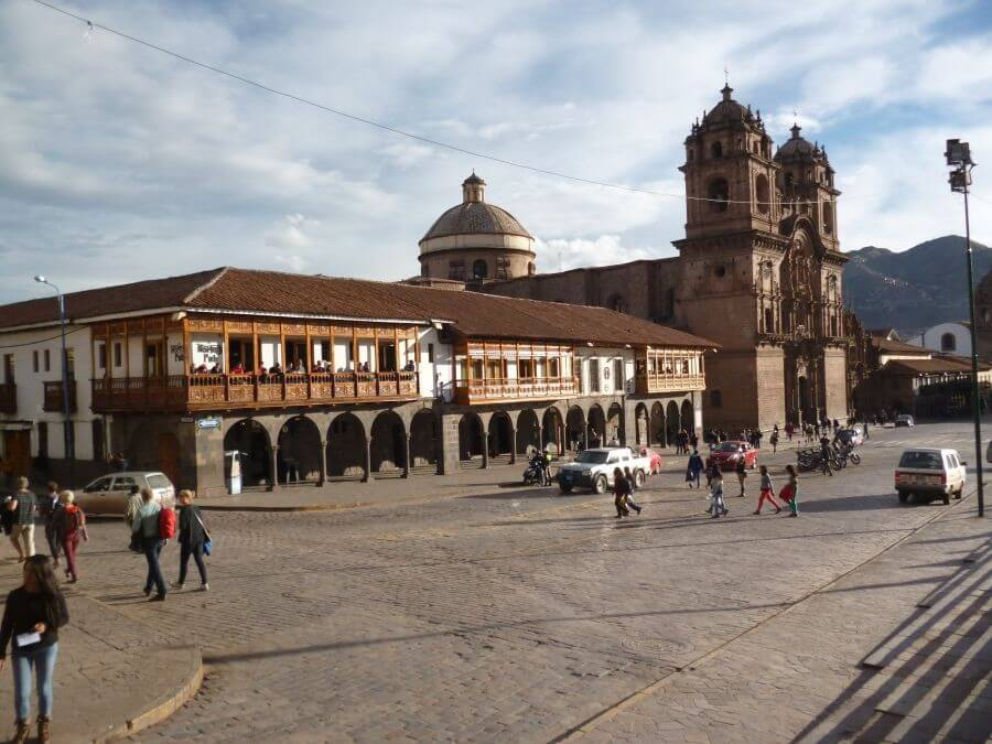 Colonial center of Cusco