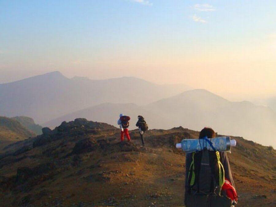 Hiking on the Ecuadorian Inca Trail