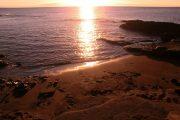 Zonsondergang op de Galapagos Eilanden