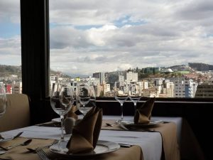 Honeymoon dinner Quito Ecuador