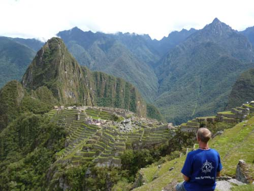 Fairtravel4u at Machu Picchu