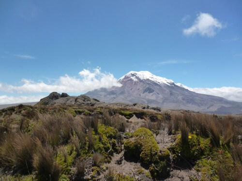Hiking the Chimborazo Volcano