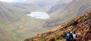 Hiking Inca Trail in Ecuador