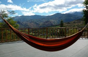 Relax in hammock in Vilcabamba