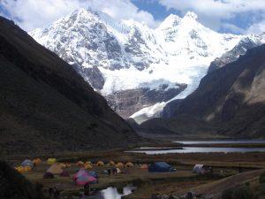 Jahuacocha camp, Huayhuas Trek