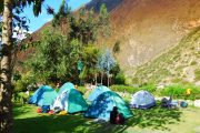 Camping during Inca Trail