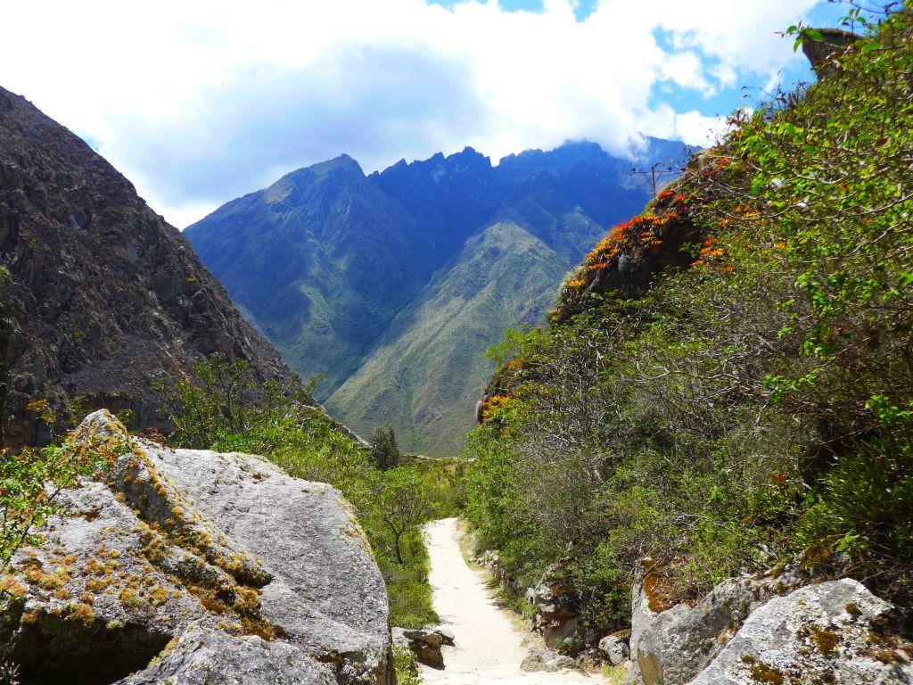 Classic Inca Trail dead woman pass