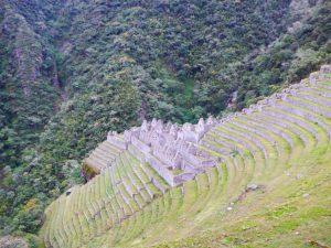 Winihuayna Inca Trail ruins
