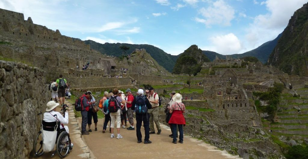 Wheelchair visit to Machu Picchu