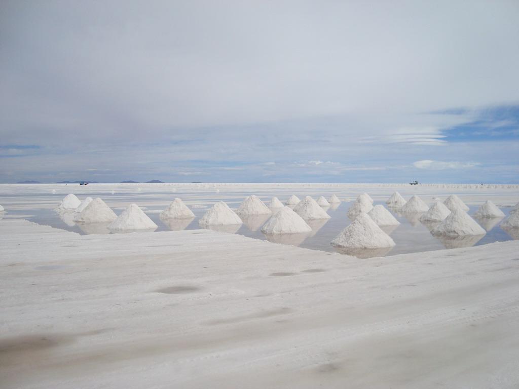 Drying hopes of salt