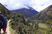 Hiking to the Salkantay Mountain