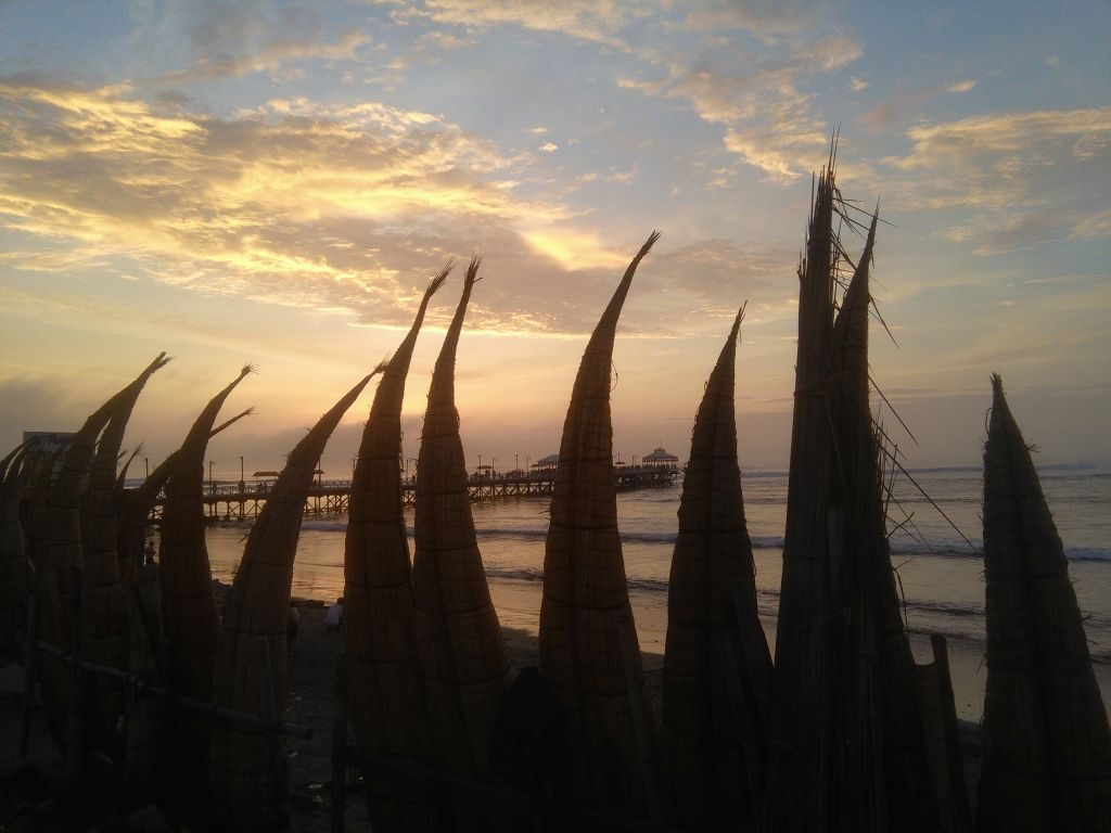 Sunset in Huanchaco