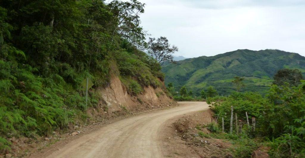 La Balsa routa Ecuador